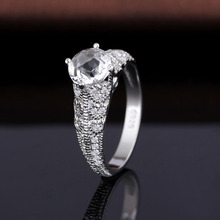 925 silver platinum ring price