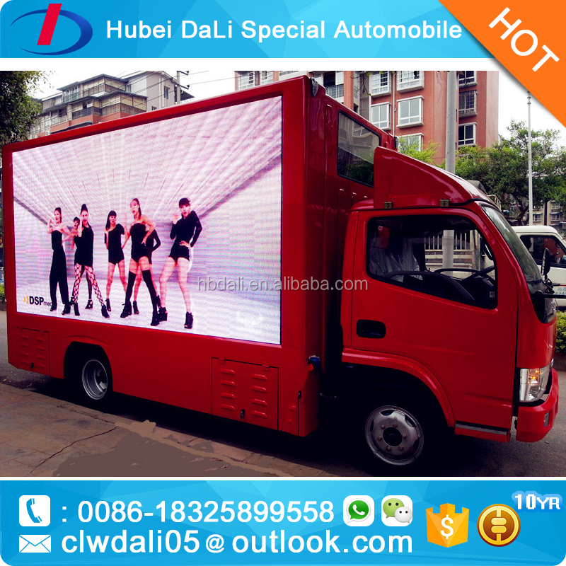 led display truck outdoor advertising truck for sales