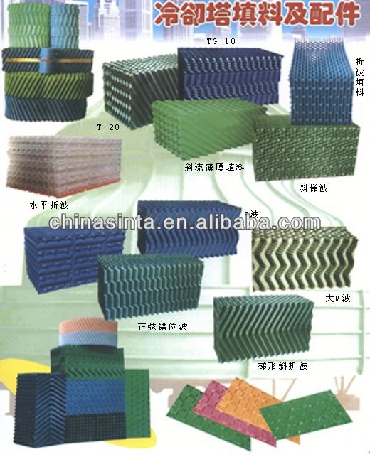 COOLING TOWER SPARE PART:FILLER