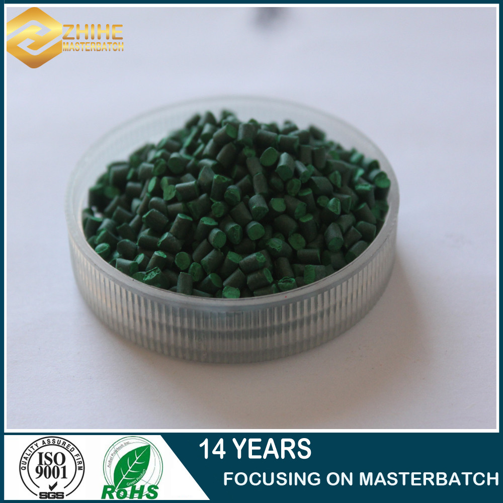 factory price blow molding/injection molding/extrusion green color masterbatch