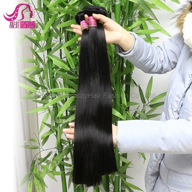 Wholesale Cheap Virgin Brazilian Straight Hair Weave Bundles Brazilian Human Hair Sew in Weave