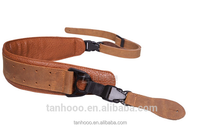 Luxury durable custom genuine Leather Guitar Strap