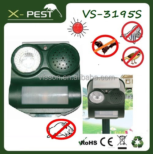 X-pest Bird Repellent Scare Tape, Pro Electronic Bird Crows Sparrows Pigeons Owls Repeller, Yard Gard Ultrasonic Animal Repeller