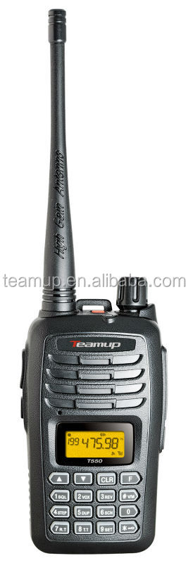 Teamup T550 HOT SALE ham radio transceiver from China