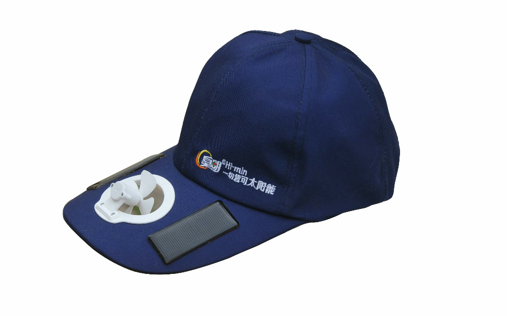 New style Himin solar cap cool your face Outdoor activities in summer travel, fishing, camping,outdoor work, sports
