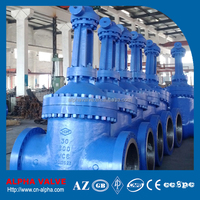 API600 Double Flanged Wedge Gate Valve