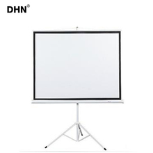 Black diamond projection screen 100 inch easy fold projection screen