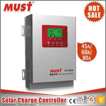 Must Factory PC1600F High Effciency MPPT 99% 12V/24V/48V Solar Charge Controller 60A