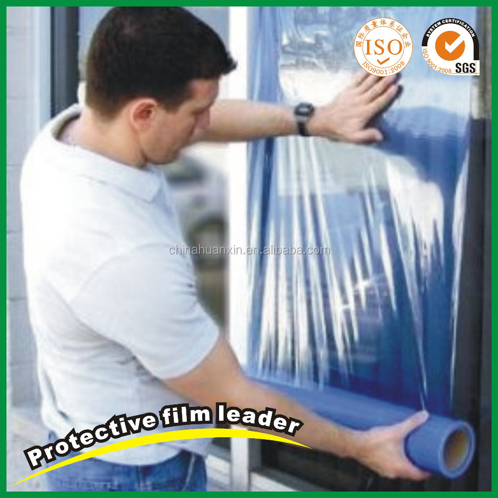 Transparent Shrink Protective Film for Window Glass