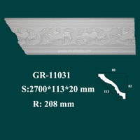 new arrival products modern house decorative PU ceiling architrave mouldings