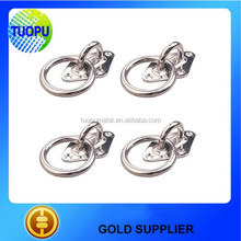 China Wholesale Stainless Steel Dimond Pad Eye with Lifting Ring for Boat/Marine