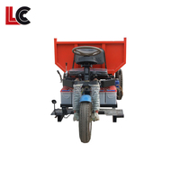 fast feed and efficient and economy mini gasoline mini dump tricycle