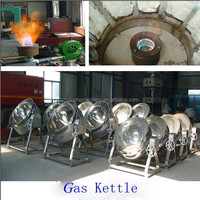 Tilting Gas Jacketed Kettle/Cooking Kettle/Cooking mixer