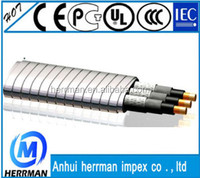 UL certified copper conductor submersible oil pump cables/ mine cable