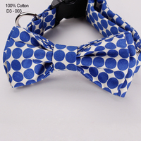 High Quality Pet Dog Product Accessories Big Dot Cotton Bow Ties Wholesale China