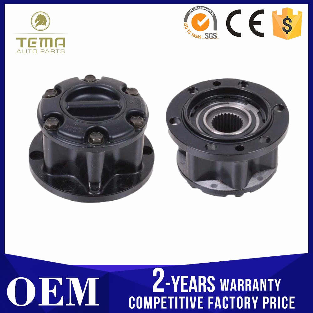 China Manufacturer 43810-60A00 For SUZUKI X-90,Vitara, Escudo,89-01,JIMNY,SJ410,SJ413, Samurai, Sierra locking free wheel hubs
