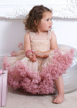 Latest Children Birthday Dress Designs Light Pink Boutique Girls Party Dresses Sequin Baby Tutu Baby Tutu Petti Dress