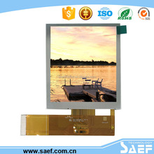 3.5 inch sunlight readable tft lcd screen wide viewing 480* (RGB )*640 transflective lcd display screen