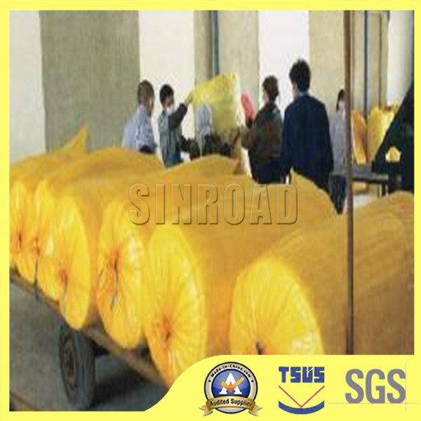 Aluminum Foil Glass Wool / Glass wool Roll With Aluminum Foil