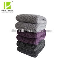 New Trendy Soft 100% Polyester Coral Fleece Blanket Wholesale Mexican Blankets For Sale