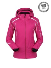 Customized Winter Women Ski Jacket Sexy Waterproof Skiing Jacket Heated Ski Clothes