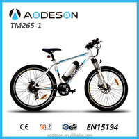 250W bafang Motor drived mountain electric bike with 21speed derailleur(TM265-1)