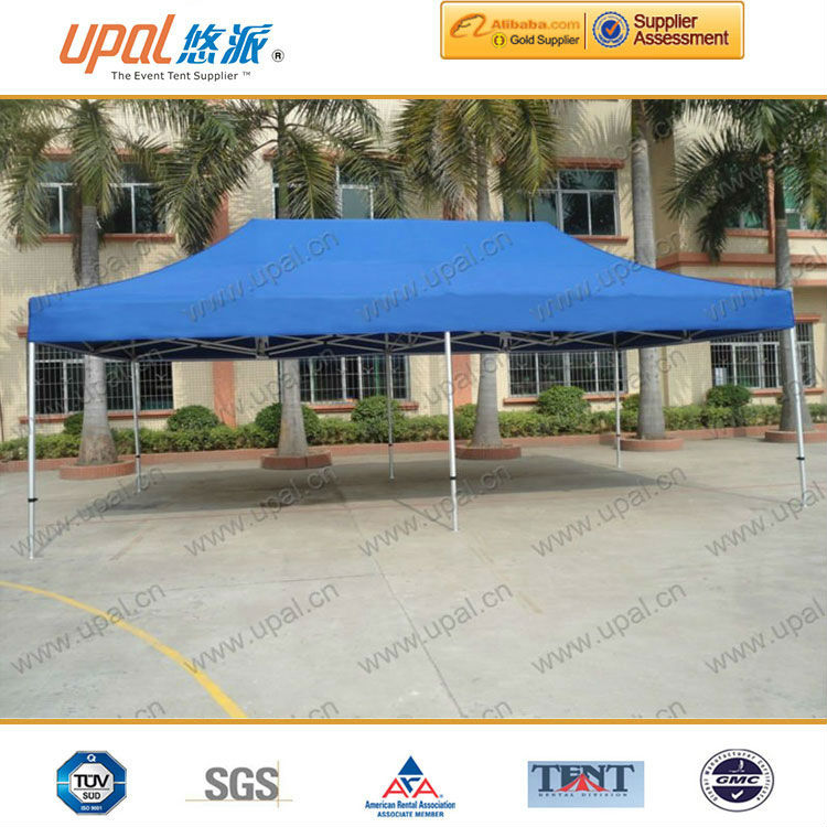 hexagonal aluminium foldable used canopies for sale