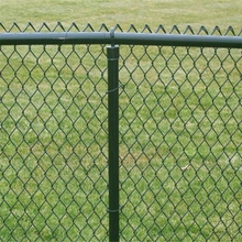 Galvanized 50X50mm / 75X75mm / 100X100mm dog Chain Link Fence