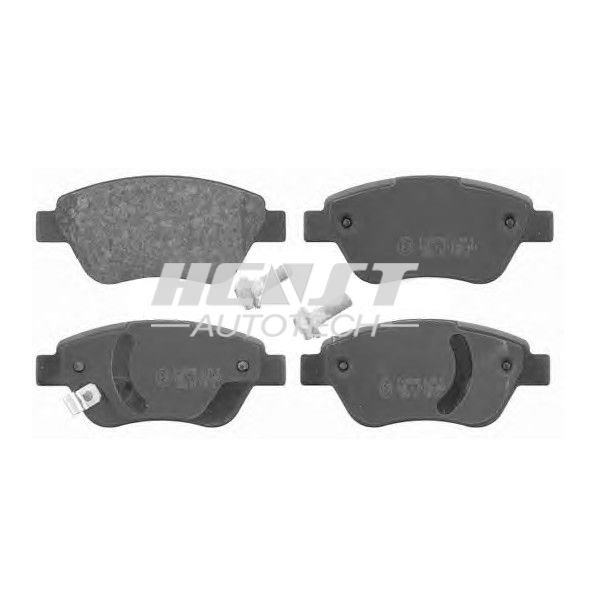 Brake Pads 1605353 for Opel Corsa D 2006 Year