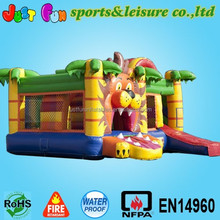 hot sale tiger Inflated Bouncer Slide for sale