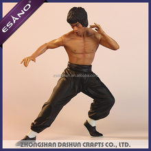 Top selling resin plastic scale model famous human action figure
