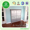 Wholesale fastion shoe cabinet with full length mirror