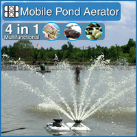 AQUASPURT 2hp mobile eco friendly fish pond aerator