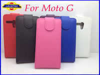 Leather Flip Case for Motorola G, for Moto G leather case With Slots