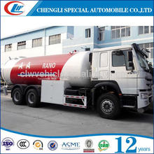 Good Dimension 25.3CBM LPG Tanker Truck LPG Filling Truck with dispensing machine