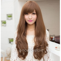 Human Hair Wigs Korean Hair Style Wig Human Hair Full Head Wigs