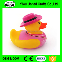 Promotional Colorful Small Yellow Floating Plastic Rubber Duck