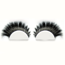 Good quality handmade very thick black horse false eyelashes with cheap price