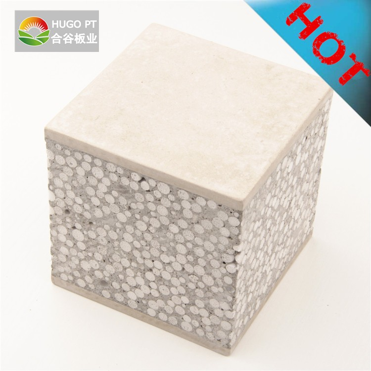 China Class A fire proof eps cement sandwich panel For house design in nepal