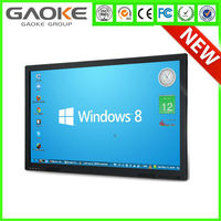 65'' All In One USB Powered Android 1080p touchscreen monitor 3g flat computer
