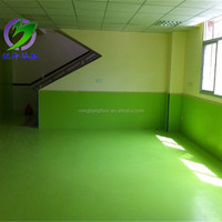 Environment Closed Grained Material Nursery Flooring