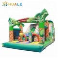 Indoor and outdoor PVC inflatable jumping castle slide