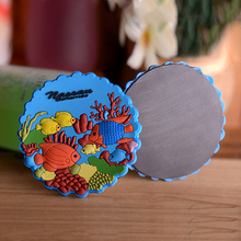 Cheap Design 3D Soft Custom Carton PVC Fridge fashion colorful Magnet Sticker Souvenir Fridge Magnet