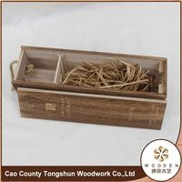 Luxury New Wooden Wine Gift Packaging Box
