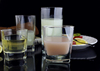 Square Bottom Whisky Glass Manufacture Clear Drinking Glass