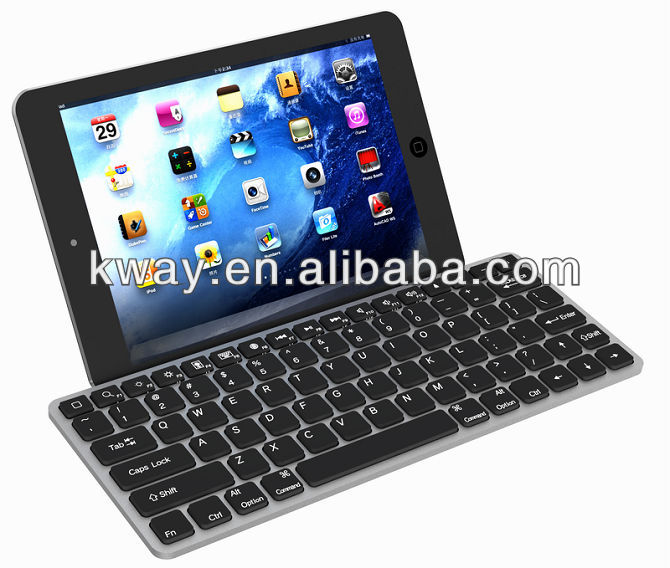 Wireless Bluetooth Aluminum Keyboard Case Cover For Apple iPad Mini 7.9 KKB029