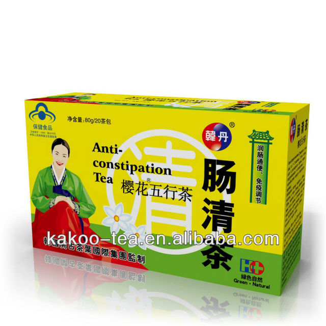 Korea Elixir Clean-up Intestines Tea Herbal Benefit Anti-constipation Tea