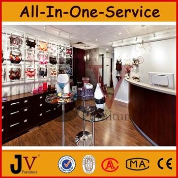 Cheap Price Underwear Shop Decoration For Interior Store Design