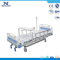 YXZ-C-017 3 function hospital bed Manual Bed hospital 2 crank manual patient bed