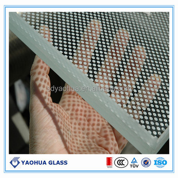 Ceramic Silkscreen Tempered Glass/Kitchen backsplash panel in Australia (EN12150 CCC)